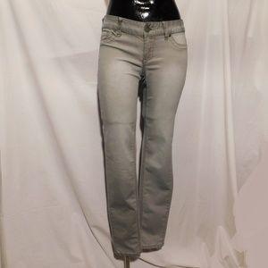 Maurices Grey Jegging Skinny Jeans Medium